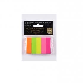 Bloc Notas Mini Color 5x15x50mm