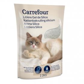 Perlas Sílice para gato 2,2 Kg