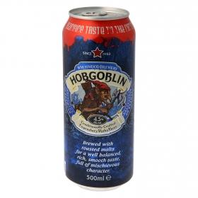 Cerveza Wychwood Hobgoblin lata 50 cl.