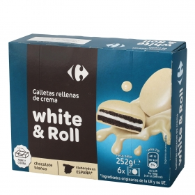 Galletas chocolate blanco