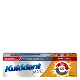 Crema adhesiva premium para dentaduras postizas