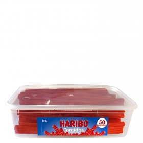 Regaliz de goma Torcidas Haribo 300 g.