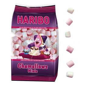 Caramelos de goma Chamallows Mini Haribo 150 g.