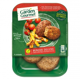 Burguer deluxe vegetariano Garden Gourmet 180 g.