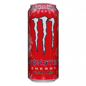 Bebida energética Monster Ultra Red zero calorías 50 cl.