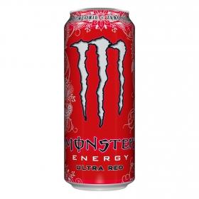 Refresco energy ultra red zero calorias