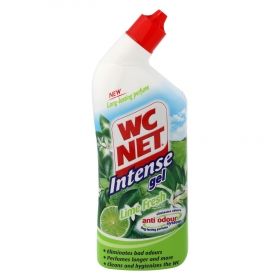 Limpiador intenso lime fresh en gel WC Net 750 ml.