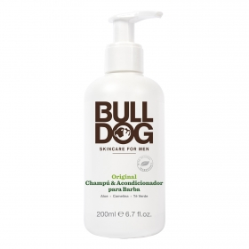 Champú y acondicionador para barba original Bulldog 200 ml.