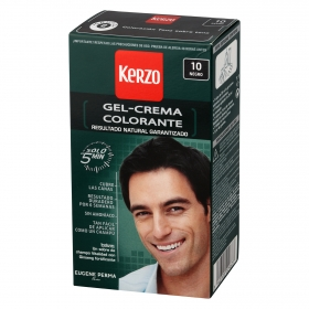 Gel crema colorante nº 10 Negro