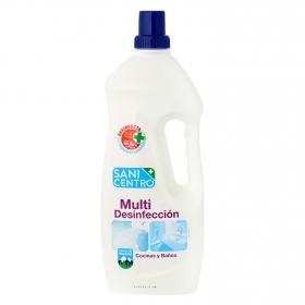 Limpiador para cocinas y baños multidesinfección Sani Centro 2 l.