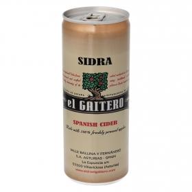 Sidra El Gaitero  achampanada lata