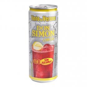 Tinto de verano limón sin alcohol Don Simón 33 cl.