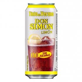Tinto de verano limón sin alcohol