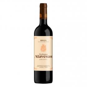 Vino D.O. Rioja tinto crianza Bodegas Alavesas 75 cl.