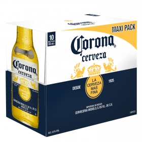 Cerveza Corona pack de 10 botellas de 35,5 cl.