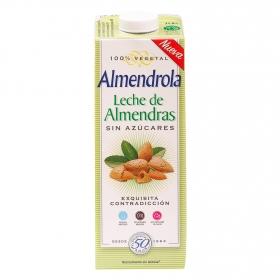 Leche de almendras Almendrola sin azúcar brik 1 l.