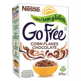 Cereales con chocolate Corn Flakes sin gluten Nestlé 375 g.