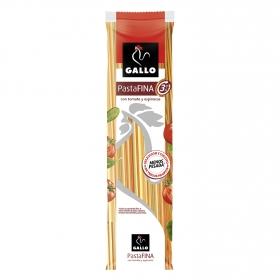 Spaghetti vegetales pasta fina Gallo 400 g.