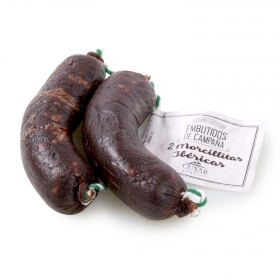 Morcillita ibérica Embutidos Jabugo Cuyar (2x120g)  240 g