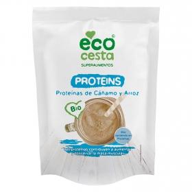 Proteínas de cáñamo y arroz ecológico Ecocesta 175 g.