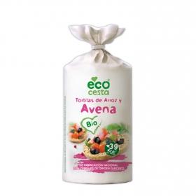 Tortitas de arroz y avena ecológicas Ecocesta 115 g.