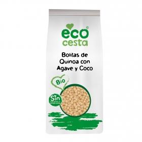 Cereales de quinoa con agave y coco ecológicos Ecocesta 300 g.