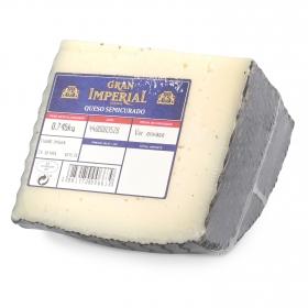 Queso semicurado mezcla Gran Imperial cuña 1/4, 750 g aprox