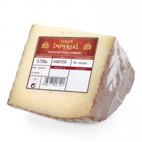 Queso curado de oveja El Gran Imperial cuña 1/4, 750 g aprox