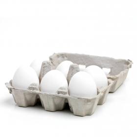 Huevos clase L blanco Dagu a granel 1/2 docena