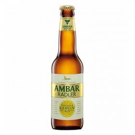 Cerveza Ambar Radler Lager premium botella 33 cl.