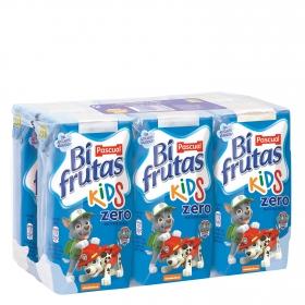 Zumo Bifrutas Kids zero pack de 6 briks de 20 cl.