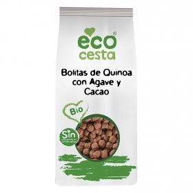 Cereales de quinoa con agave y cacao Ecocesta 300 g.