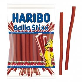 Regaliz de goma sabor fresa Haribo 175 g.