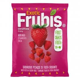 Snacks fresa crujientes Frubis 20 g.
