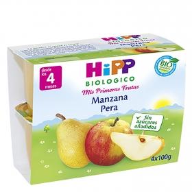 Tarrina de manzana y pera Bio