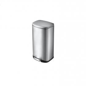 Cubo  de basura de Acero inoxidable 35 Litros Metalizado