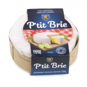 Queso brie petit Milleret 125 g