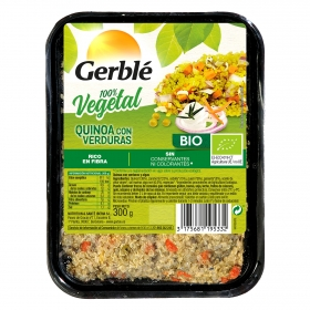 Quinoa con verduras ecológica Gerblé Bio 300 g.