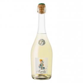 Vino frizzante blanco vendimia temprana Azarbe 75 cl.