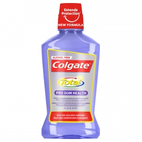 Enjuague bucal Total pro encias sanas Colgate 500 ml.