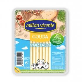 Queso gouda ya cortado Millan Vicente 250 g