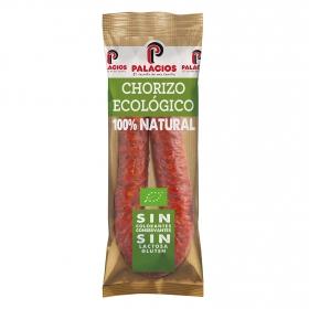 Chorizo ecológico Palacios 200 g.
