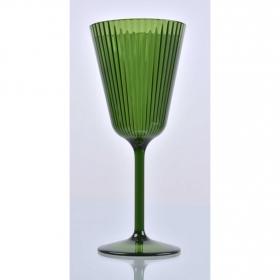 Copa Acrílica Retro Cactus Verde