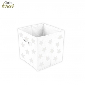 Caja Almacenamiento UNIKA  27X27X28 cm - Blanco