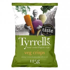 Aperitivo de verduras Tyrrell's 125 g.