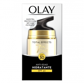Crema Total efect 7 in one Antiedad hidratante SPF30 Olay 50 ml.