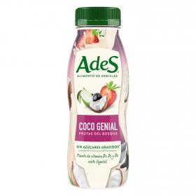 Bebida de coco AdeS con frutas del bosque botella 250 ml.