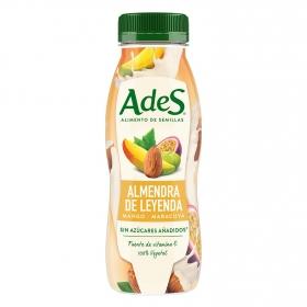 Bebida de almendras, mango y maracuyá sin azúcar añadido