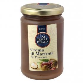 Crema di marroni piemonte Terre d'Italia 350 g.
