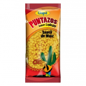 Aperitivo de maíz Aspil Puntazos sin gluten 125 g.